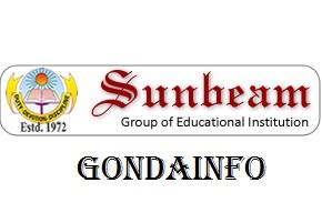 sunbeam school gonda official logo